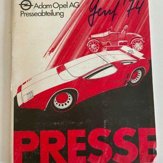 ORIGINAL OPEL Broschüre + Werksfotos 1974 Manta A GT/E Kadett C