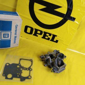 NEU + ORIG GM Opel Ascona B Manta B 2,0 N Vergaserdeckel Drosselklappenteil
