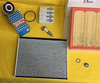 NEU+ORG Opel Inspektion Kit Corsa D 1,6 Turbo OPC Filter Zündkerzen Service Set