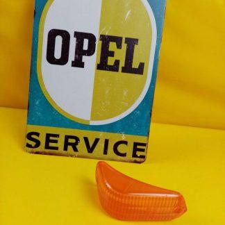 NEU + ORIG Opel Olympia Rekord P1 Glas Blinker Blinkerglas rechts + links