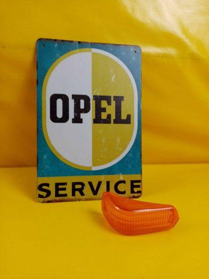 NEU + ORIGINAL Opel Olympia Rekord P1 Blinkerglas Blinker Glas