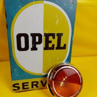 NEU + ORIG Opel Rekord B Glas Blinker Chrom Coupe Limousine Rücklicht