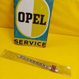 NEU + ORIGINAL Opel Commodore A GS Emblem Coupe Limousine