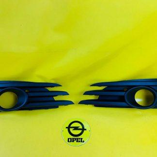 NEU + ORIGINAL OPEL Vectra C OPC Set Blenden Nebelscheinwerfer Stoßstange