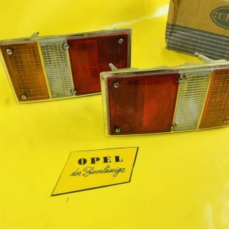 NEU + ORIGINAL Opel Ascona A Voyage Kombi Rücklicher Paar Rücklicht