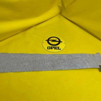 NEU + ORIGINAL GM/ Opel Zafira B Farbstreifen Carbon Fenster Rahmen Tür vorne