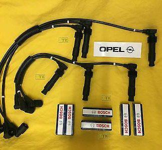 NEU Zündkabelsatz Opel Omega B Sintra 2,5 3,0 V6 + 6x Original BOSCH Zündkerzen