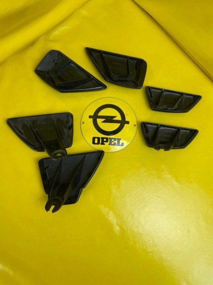 ORIGINAL Opel Rekord E Commodore C Satz Abdeckkappen Endstück Stoßstange Kappe