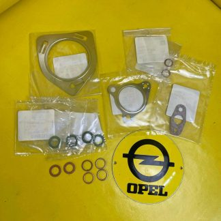 NEU + ORIGINAL GM/Opel Vectra C Signum 2,0 Turbo 175 PS Dichtsatz Turbolader Set