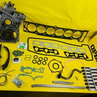 ERSATZTEILE Opel 3,0 24V Steuerkette Steuergehäuse Zylinderkopf C30SE 3.0 3,6