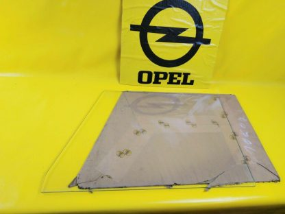 NEU + ORIGINAL Opel Olympia Rekord P2 Kombi Caravan Scheibe Türscheibe re + li