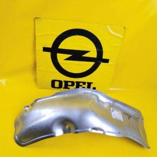 NEU + ORIG GM Opel Omega B Hitzeblech Auspuff vorne rechts Abschrimblech Blech