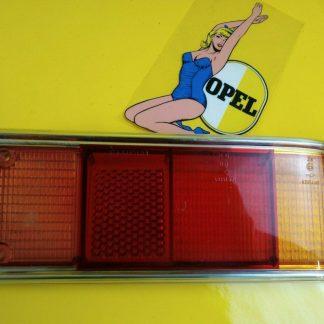 NEU + ORIG Opel Rekord D Rücklichtglas Rücklicht Glas Heckleuchte Rückleuchte