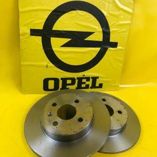 NEU Zimmermann Bremsscheiben hinten Opel Astra H Twintop Corsa C GSI Meriva A