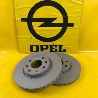 NEU Zimmermann Bremsscheiben vorne Opel Corsa D / E + Adam 257 x 22 mm