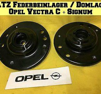 NEU SATZ Federbeinlager Domlager vorne Opel Vectra C Signum Stoßdämpfer auch IDS