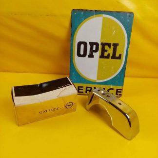 NEU + ORIG Opel Rekord B Coupe Stoßstange Chrom Hörner Limousine vorne + hinten