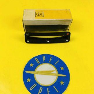 NEU + ORIGINAL Opel Kadett C Blende Heizungsbetätigung
