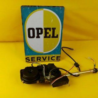 NEU + ORIG GM Opel Kadett E elektrische Antenne Chrom Mast voll versenkbar