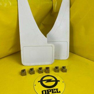 NEU + ORIGINAL Opel Ascona B + Manta B 400 Schmutzfänger vorne weiß