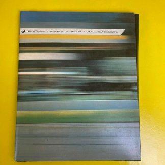 ORIGINAL OPEL Broschüre + Werksfotos, Pressemappe 50. IAA Frankfurt 1983