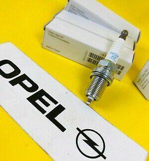 NEU ORIG OPEL SATZ Zündkerze Doppelplatin Calibra 2,0 115/136/150 PS Platin i