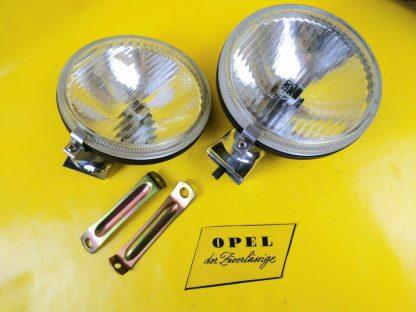 NEU + ORIG Opel Ascona B Manta B Fernscheinwerfer Satz Halogen Weitstrahler NOS