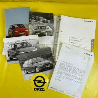 ORIGINAL OPEL Broschüre + Werksfotos Astra F GSi 16V, Prospekt, Sammler,