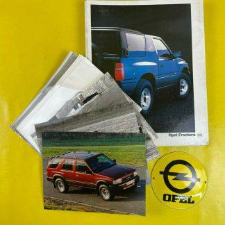 ORIGINAL OPEL Broschüre + Werksfotos Frontera A Sport, Prospekt, Sammler,
