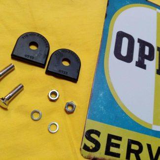 NEU Opel Stoßstange Gummi Chromschrauben Unterlage Kadett A / B / C Manta A / B