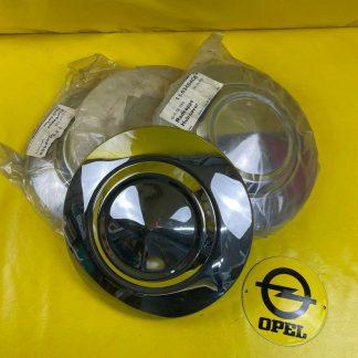 NEU + ORIGINAL Opel Radkappen Vauxhall Bedford Blitz Satz Chrom