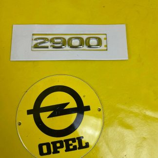 NEU + ORIGINAL GM/ Opel Vivaro A Schriftzug Tür vorne Emblem 2900 Chrom