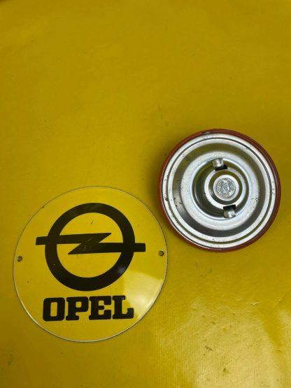 NEU ++ ORIGINAL Opel Ascona A Manta A Rekord D Commodore B Tankdeckel orange