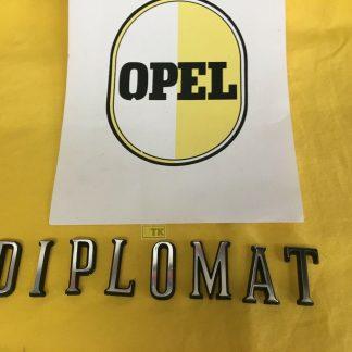 NEU + ORIG Emblem Schriftzug Diplomat B 5,4 V8 einzelne Buchstaben Zeichen Diplo