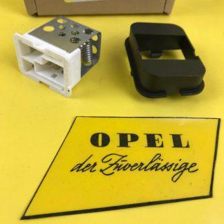 NEU + ORIGINAL Gebläsewiderstand für Opel Astra G + H / Zafira A Gebläseregler