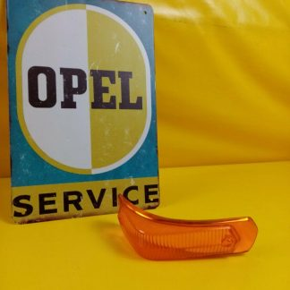 NEU + ORIGINAL Opel Olympia Rekord P2 Blinkerglas vorne links Glas Blinker