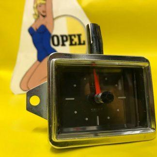 NEU + ORIGINAL OPEL Rekord A Limousine Coupe Kombi Uhr Zeituhr 6 Volt Kienzle