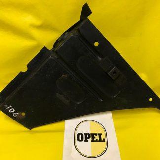 NEU + ORIG OPEL Kadett B Reparaturblech Luftleitblech links Frontblech seitlich
