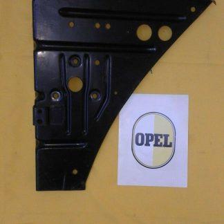 NEU + ORIG OPEL Rekord A Front Luftleitblech Limousine Coupe Frontblech NOS OE