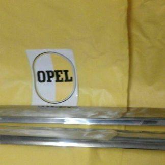 NEU + ORIGINAL Opel Kadett A Coupe Limousine Satz Zierleisten Schweller Chrom