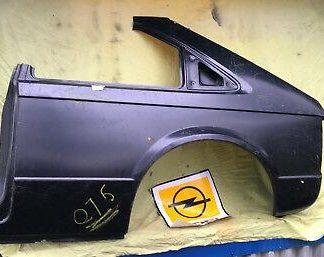 NEU + ORIGINAL Opel Kadett D LINKS Reparaturblech Seitenteil Seitenwand GTE GT/E