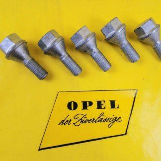 NEU + ORIG Opel Vivaro A Movano A 5' Satz Radschrauben Radbolzen Rad Schraube
