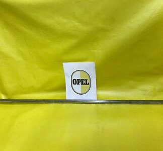 NEU + ORIG Opel Kadett B Olympia A alle 4 Türer Modelle Zierleiste Fahrertür NOS