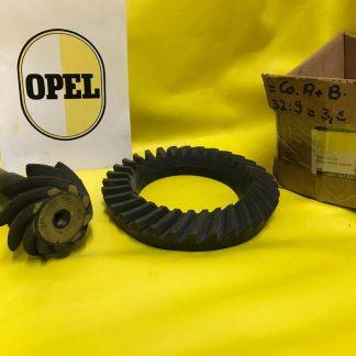 NEU + ORIG OPEL Commodore A / B 2,5 2,8 Übersetzung Hinterachse Teller Kegelrad