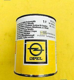NEU ORIGINAL OPEL Oldtimerlack Farbe UNGEÖFFNET 1L Plastikfarbe schwarz