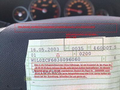 NEU Opel Zaifra C Abdeckung Stoßstange Einsatz schwarz ohne Nebelscheinwerfer