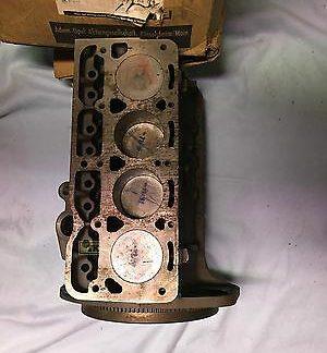 NEU + ORIG Opel Motor Motorblock Kadett A 1,0 N 40PS + Kadett B Rumpfmotor NEU