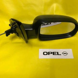 NEU Aussenspiegel rechts Opel Corsa C + Combo schwarz kpl mit Glas und Abdeckung