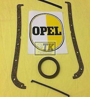 NEU Ölwanne Dichtung Kurbelwelle CIH 4-Zyl Opel Rekord B C D E 1,7-2,4 Liter