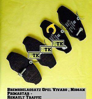 ORIGINAL OPEL Vivaro Bremsbeläge Satz VA auch Nissan Priamstar+ Renault Traffic